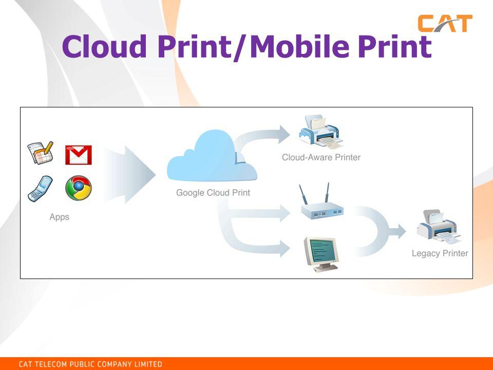 Cloud Print/Mobile Print