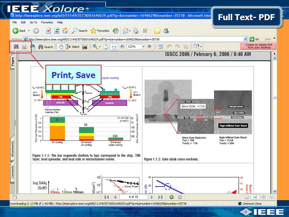 Full Text- PDF Print, Save