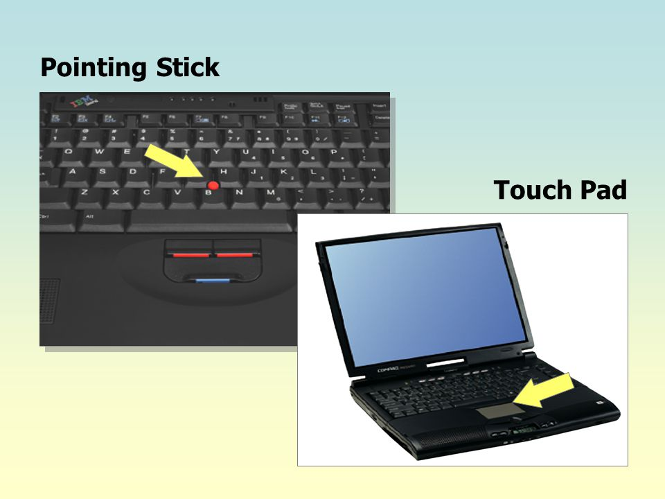 Pointing Stick Touch Pad