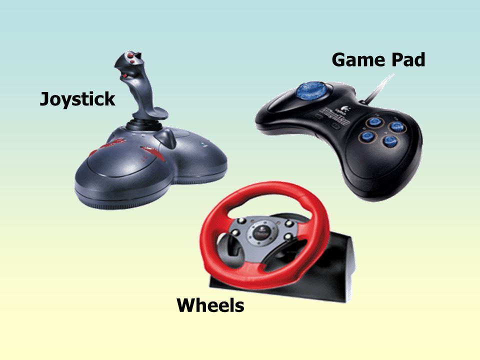 Game Pad Joystick Wheels