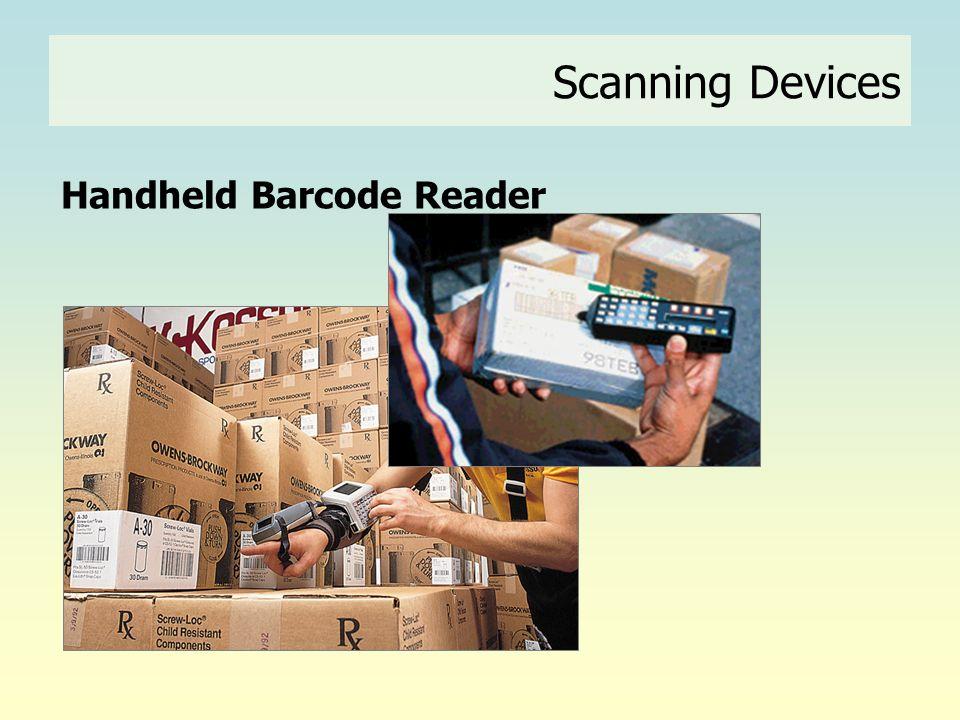 Handheld Barcode Reader