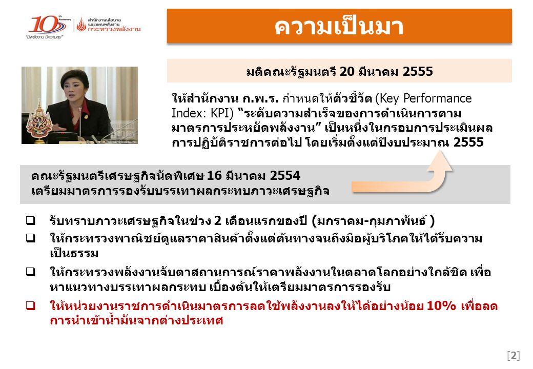 มติคณะรัฐมนตรี 20 มีนาคม 2555