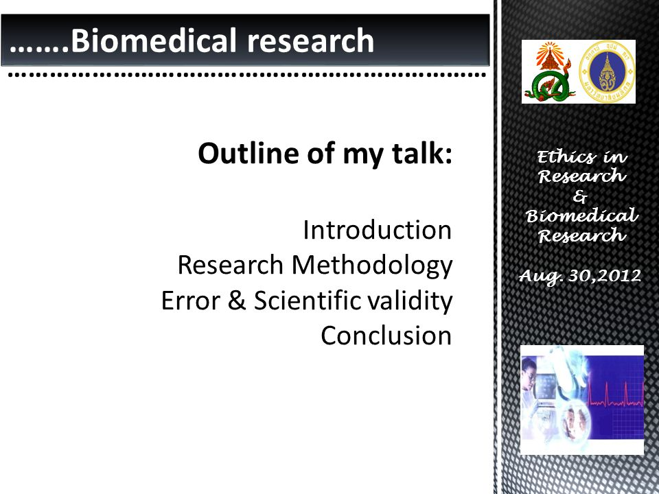 …….Biomedical research