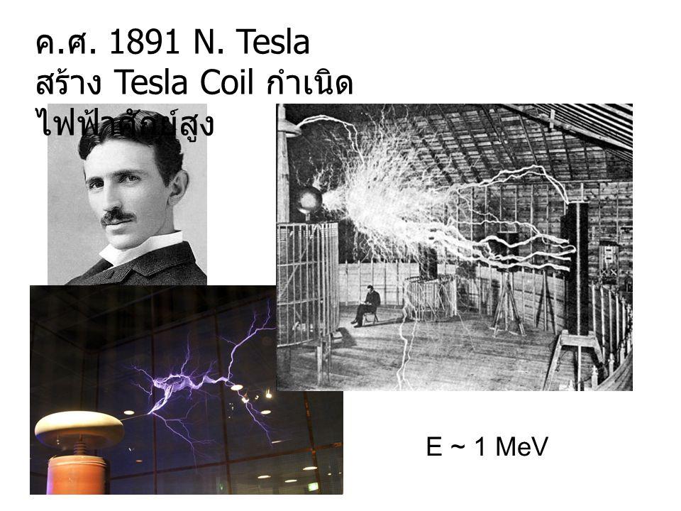 สร้าง Tesla Coil กำเนิดไฟฟ้าศักย์สูง