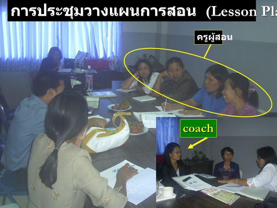 การประชุมวางแผนการสอน (Lesson Planning)