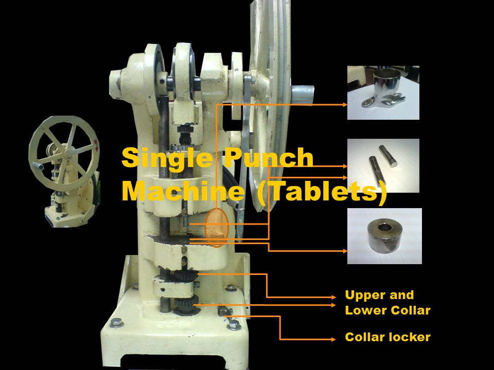 Single Punch Machine (Tablets)
