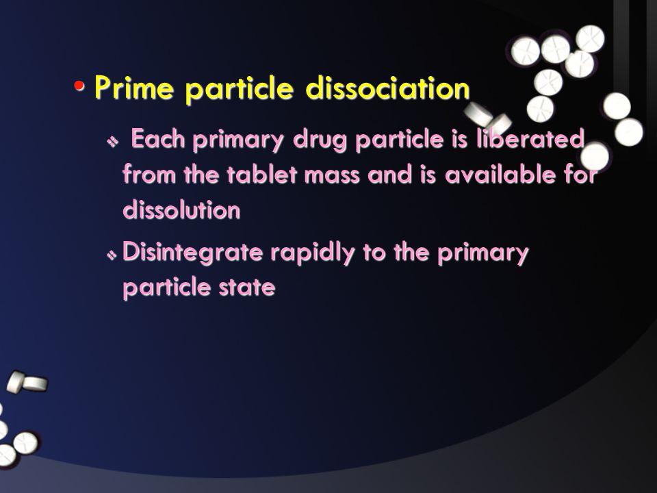 Prime particle dissociation