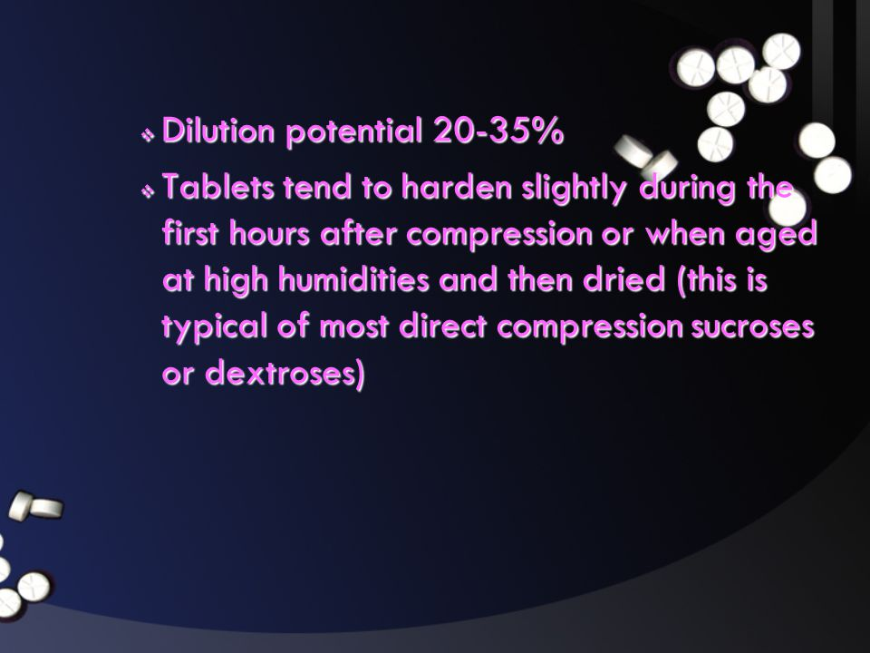 Dilution potential 20-35%