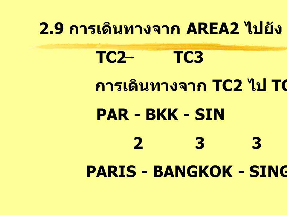 2.9 การเดินทางจาก AREA2 ไปยัง AREA3 : EH