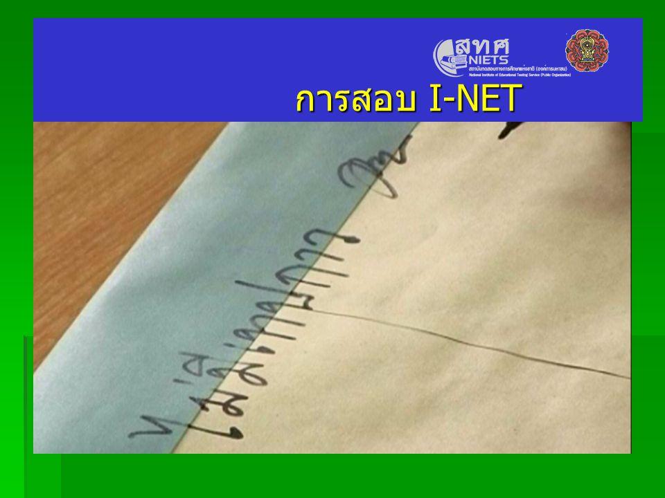 การสอบ I-NET