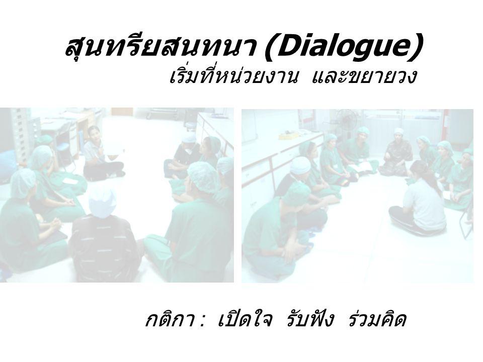 สุนทรียสนทนา (Dialogue)