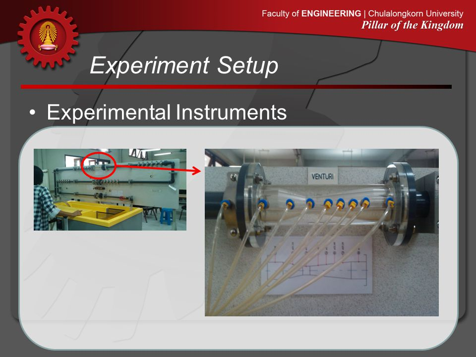 Experiment Setup Experimental Instruments