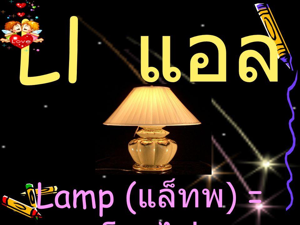 Ll แอล Lamp (แล็ทพ) = โคมไฟ
