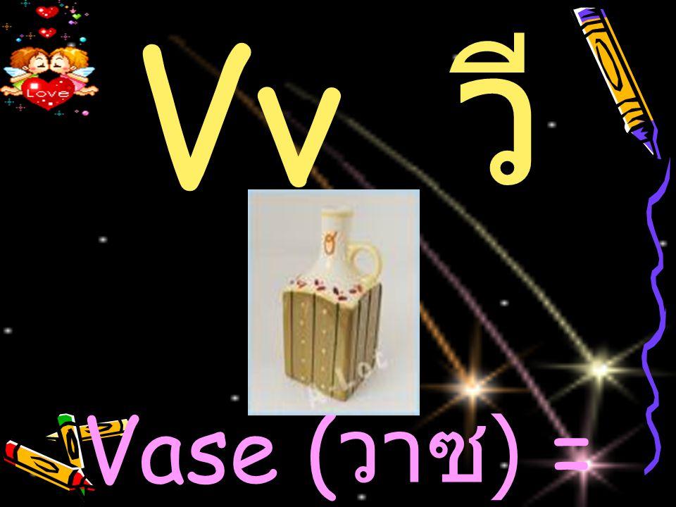 Vv วี Vase (วาซ) = แจกัน