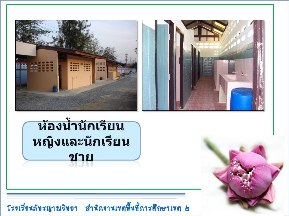ห้องน้ำนักเรียนหญิงและนักเรียนชาย