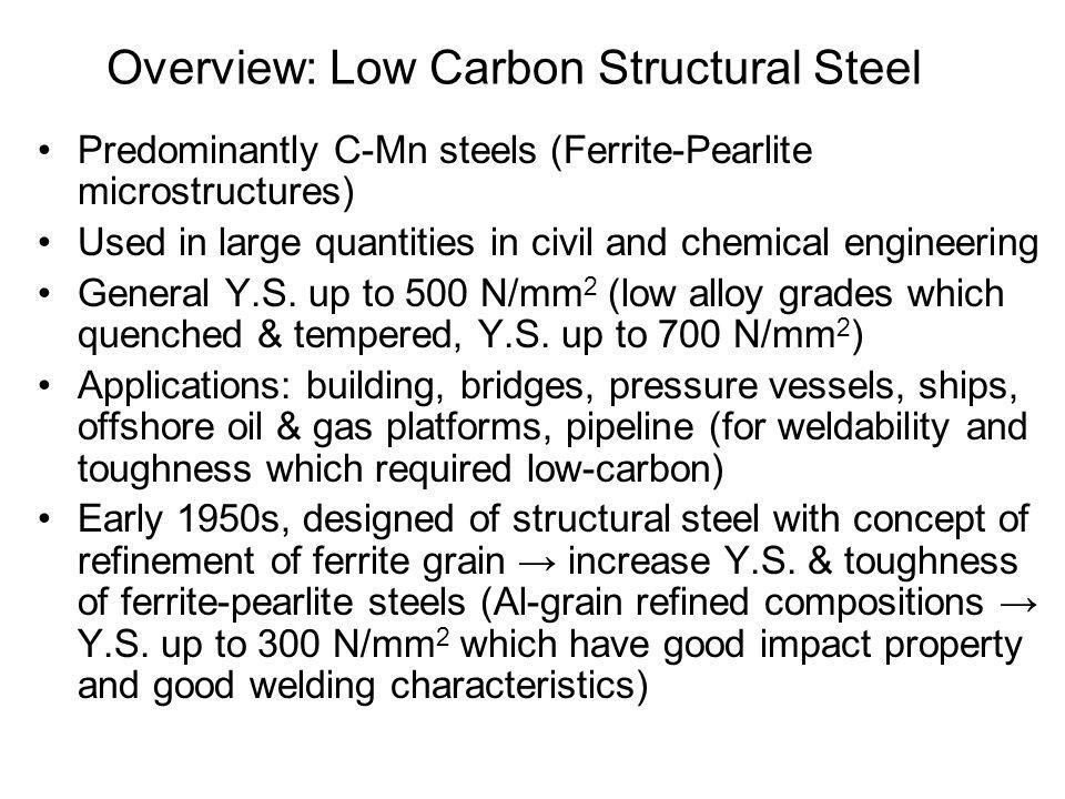Overview: Low Carbon Structural Steel