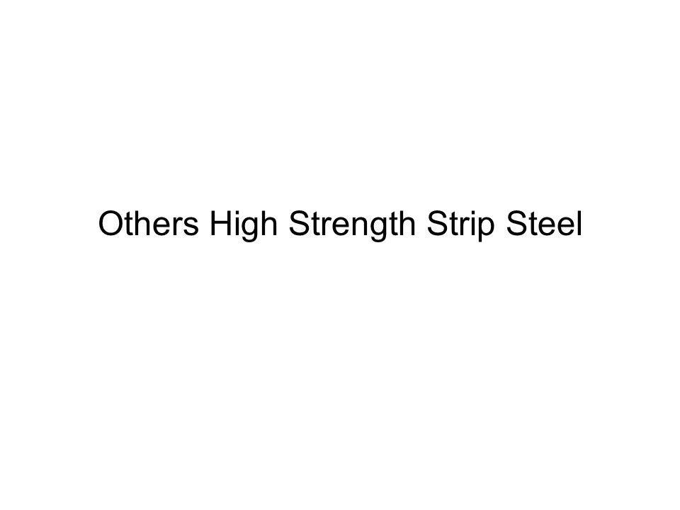 Others High Strength Strip Steel