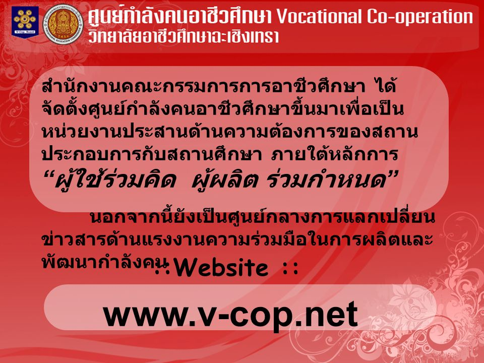 www.v-cop.net ::Website ::