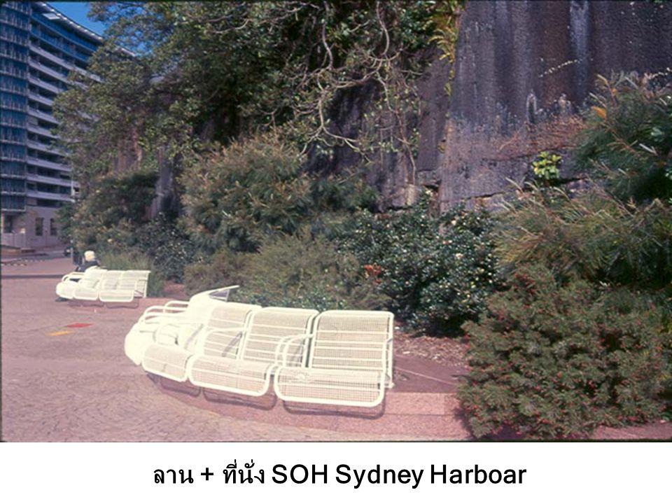 ลาน + ที่นั่ง SOH Sydney Harboar