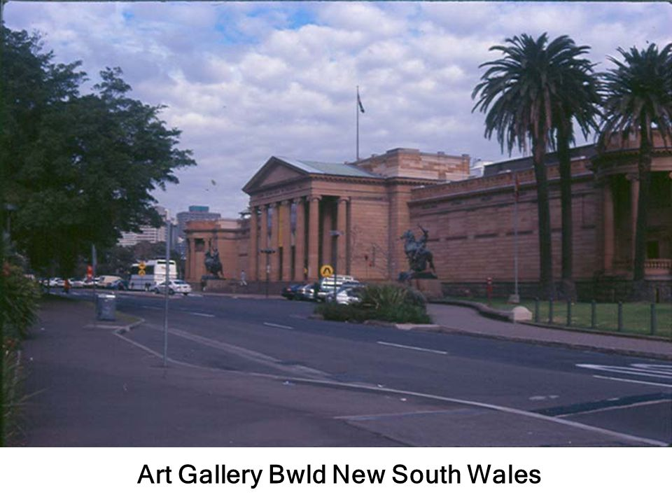 Art Gallery Bwld New South Wales