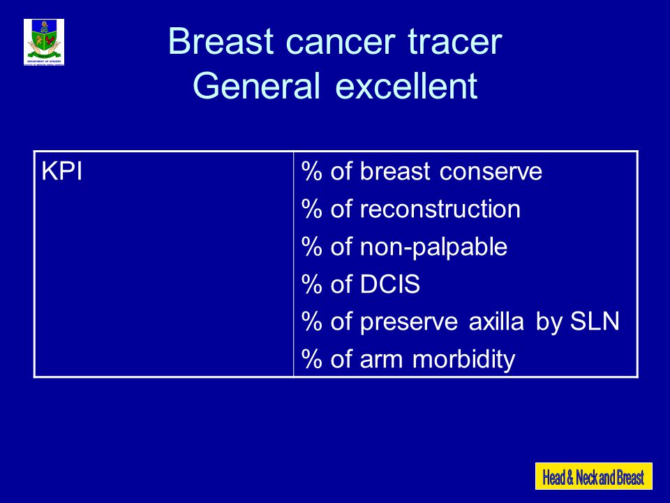 Breast cancer tracer General excellent