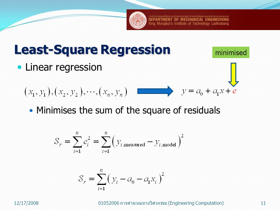 Least-Square Regression