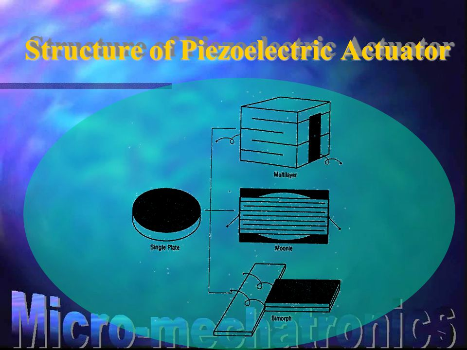 Structure of Piezoelectric Actuator