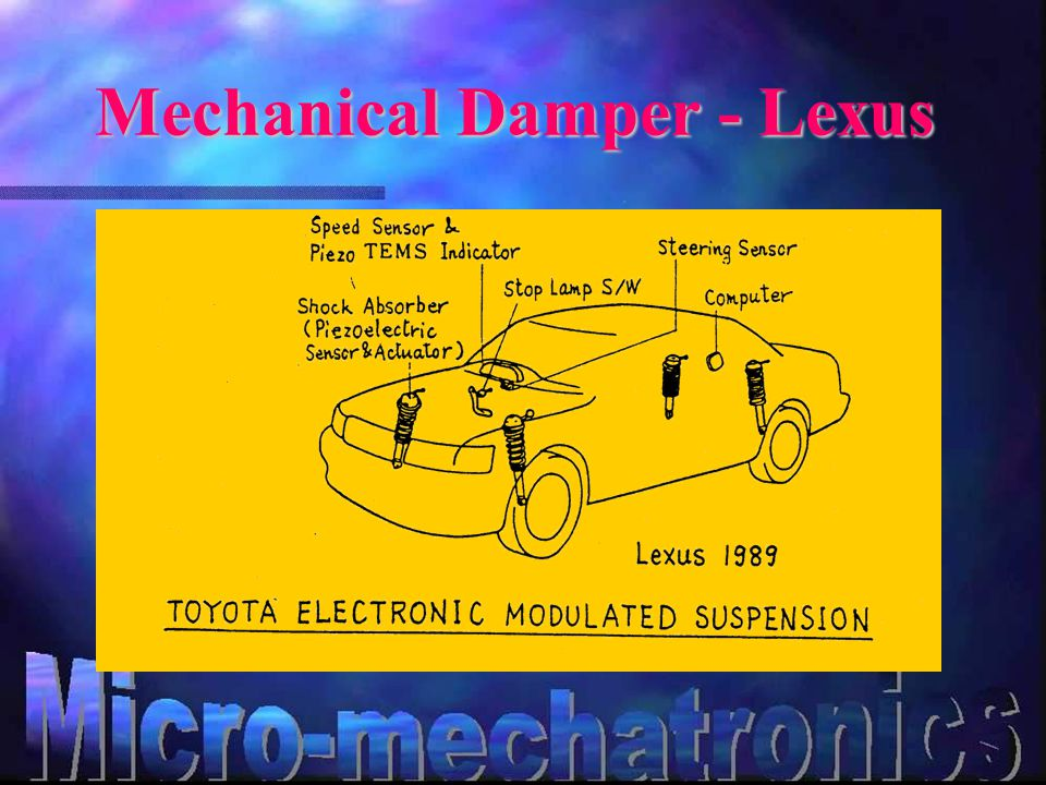 Mechanical Damper - Lexus