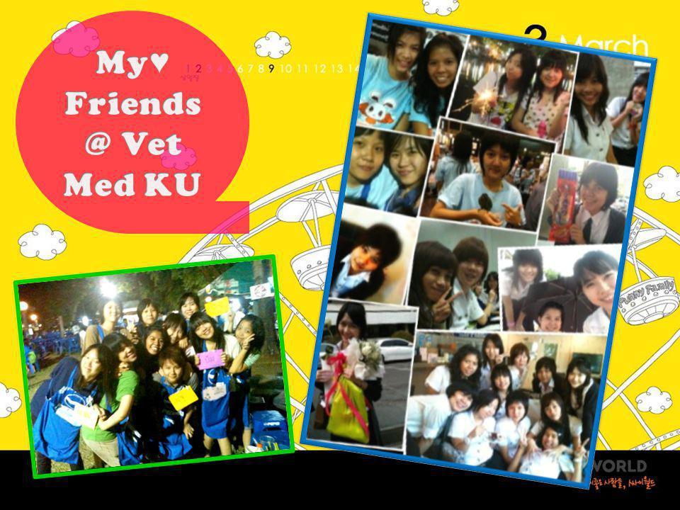 My♥ Friends@ Vet Med KU