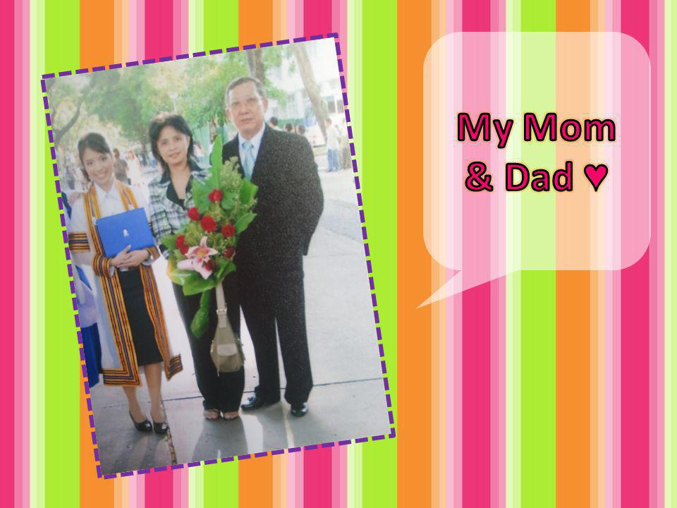 My Mom & Dad ♥
