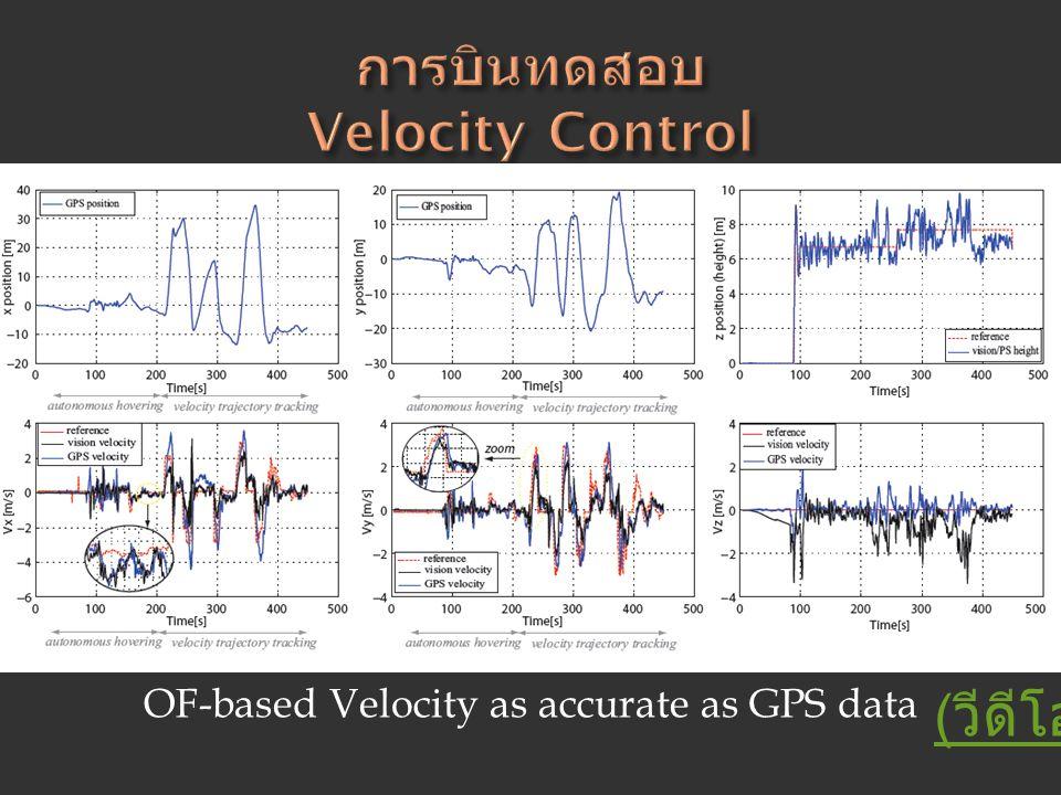 การบินทดสอบ Velocity Control