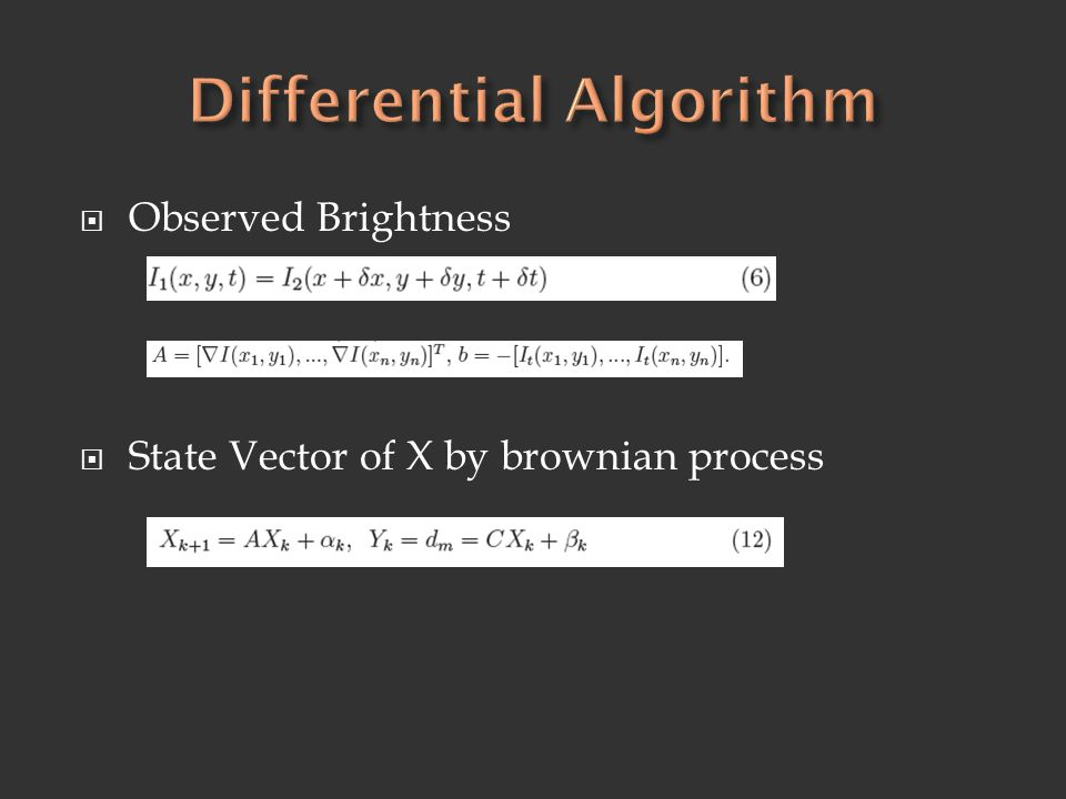 Differential Algorithm
