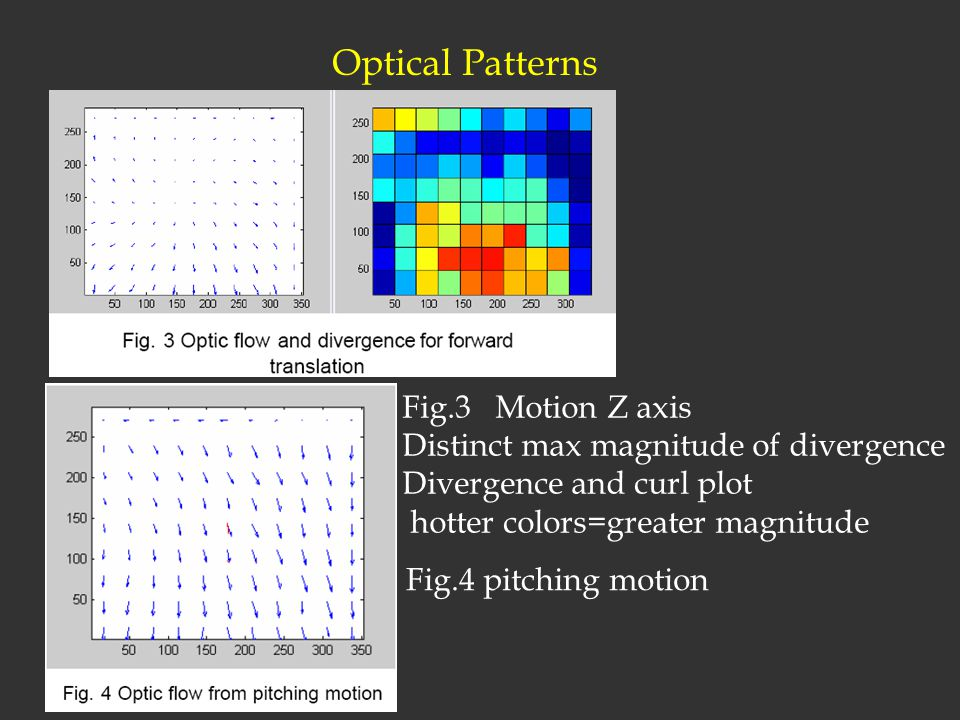 Optical Patterns Fig.3 Motion Z axis