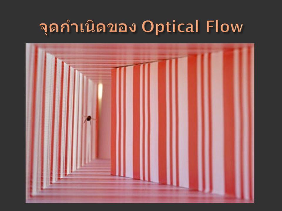 จุดกำเนิดของ Optical Flow