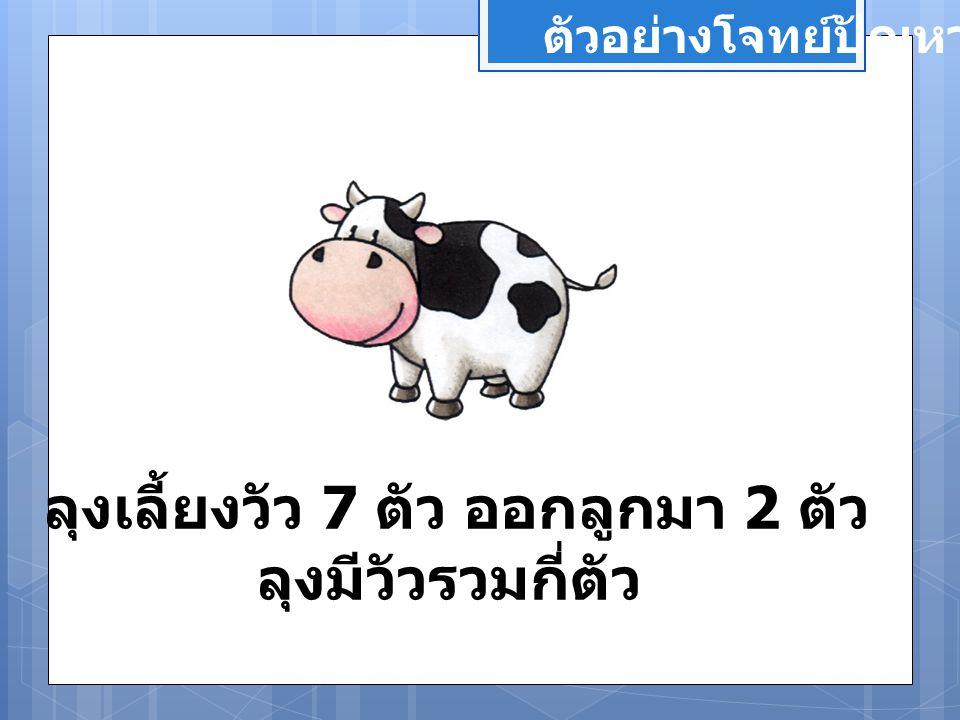 ลุงเลี้ยงวัว 7 ตัว ออกลูกมา 2 ตัว