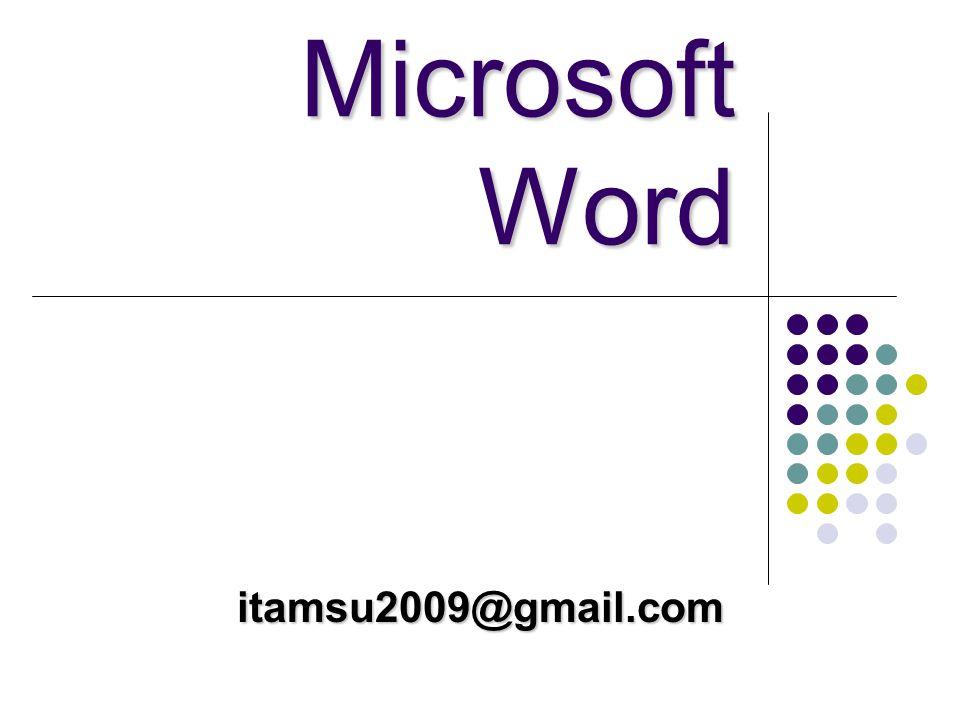 Microsoft Word itamsu2009@gmail.com