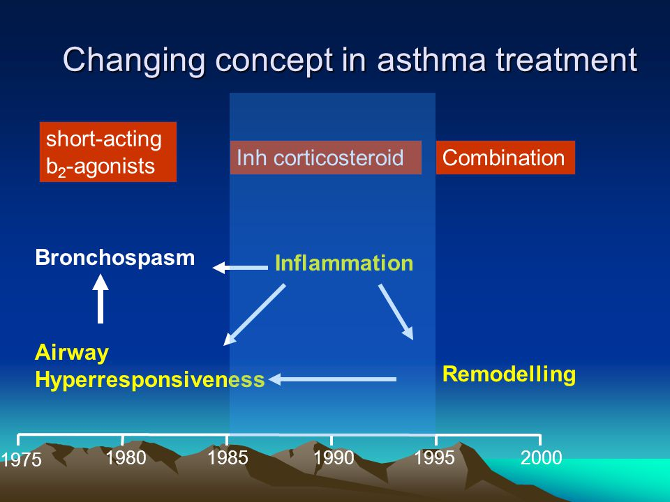 Changing concept in asthma treatment