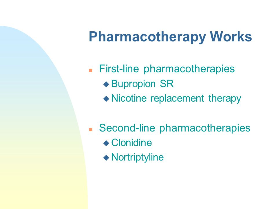 Pharmacotherapy Works