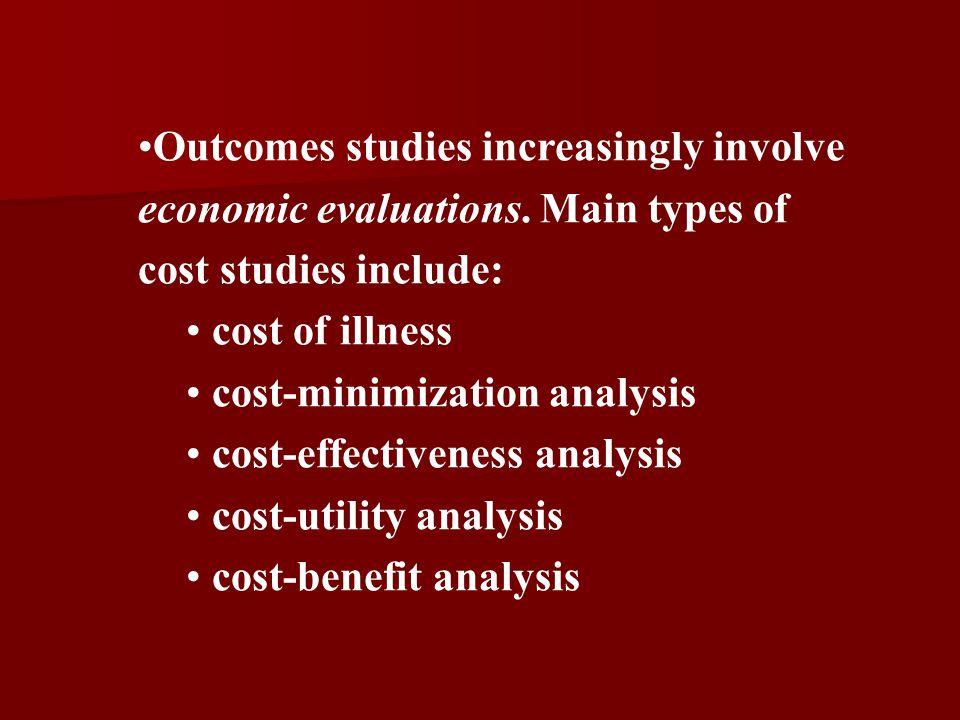 cost-minimization analysis cost-effectiveness analysis