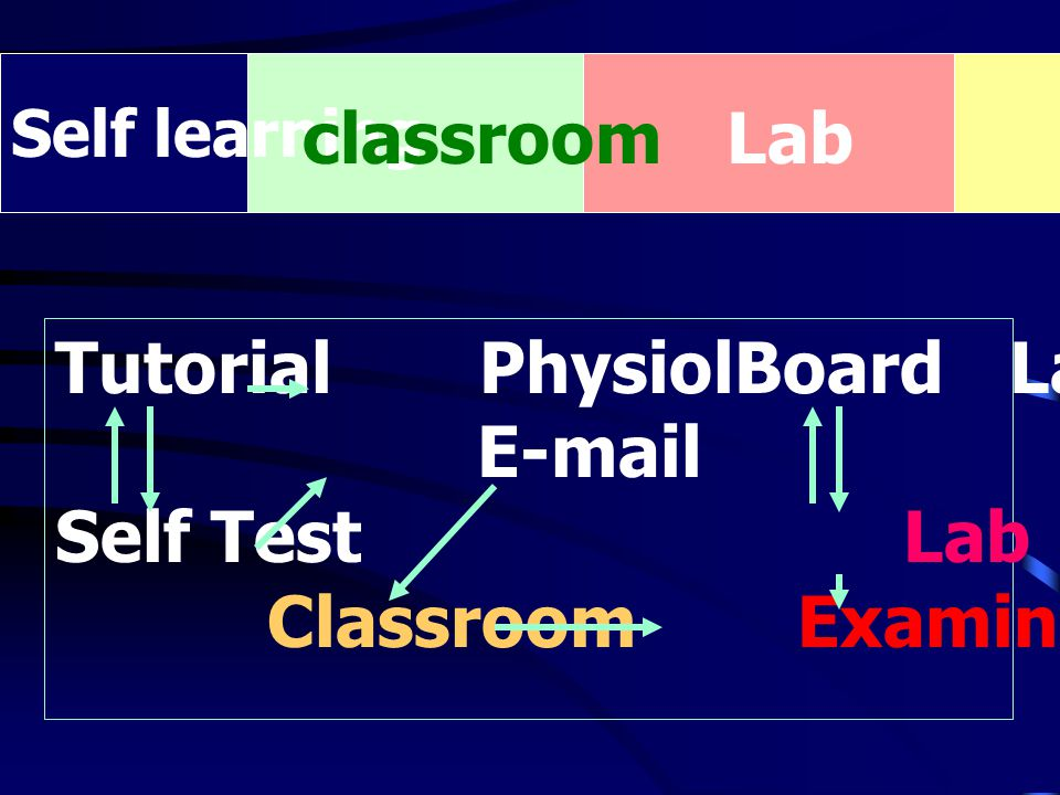 Tutorial PhysiolBoard Lab Simulation E-mail Self Test Lab