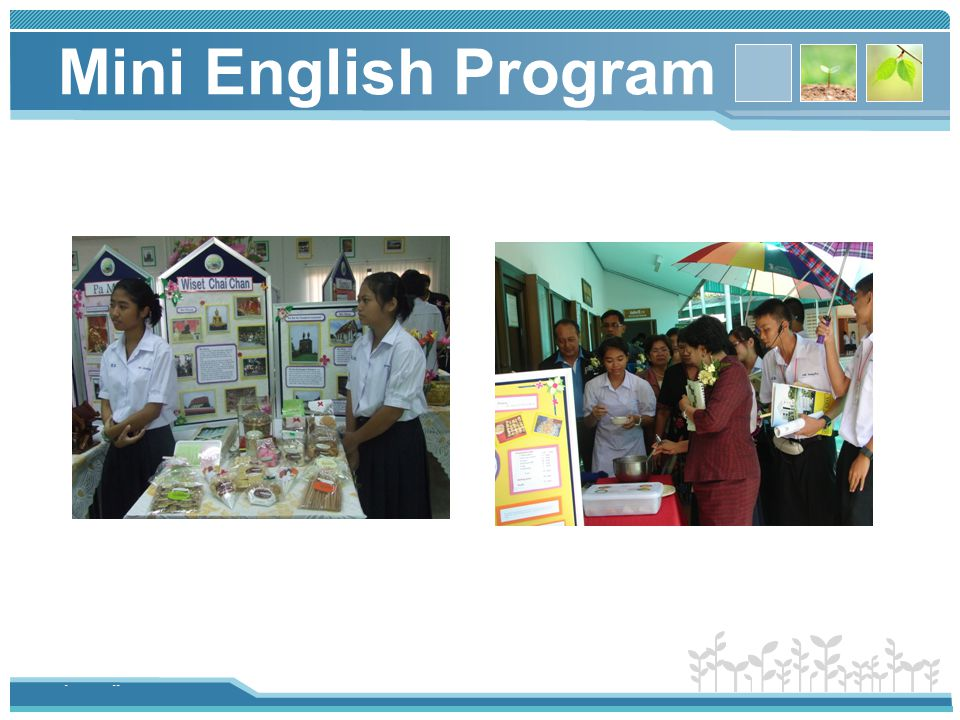 Mini English Program