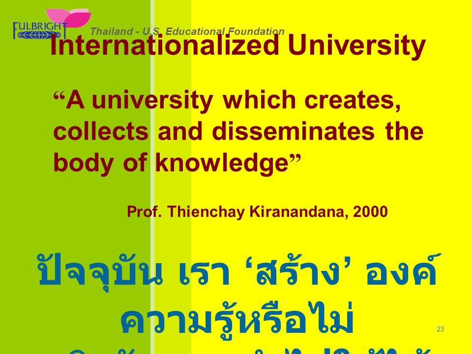 ปัจจุบัน เรา 'สร้าง' องค์ความรู้หรือไม่ จริงจัง และนำไปใช้ได้แค่ไหน