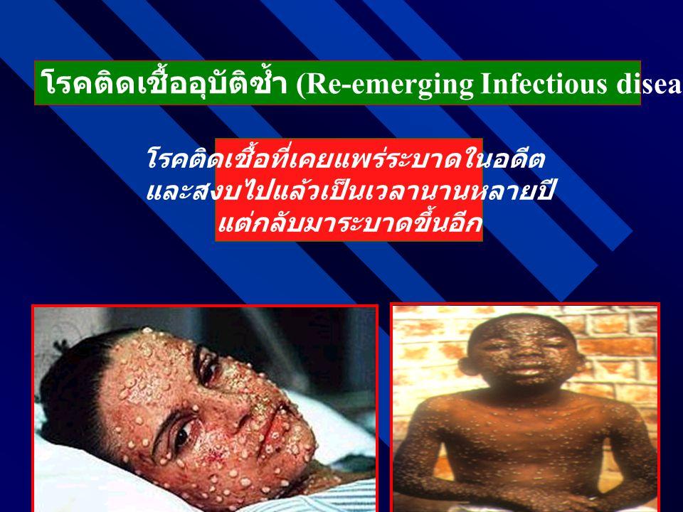 โรคติดเชื้ออุบัติซ้ำ (Re-emerging Infectious diseases: