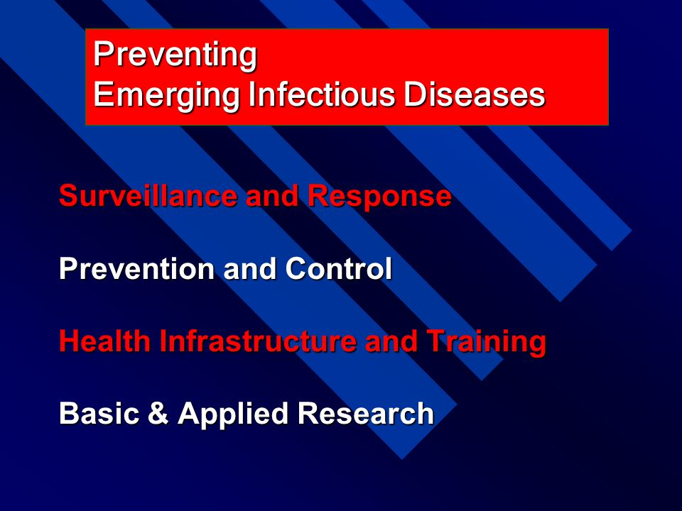 Preventing Emerging Infectious Diseases