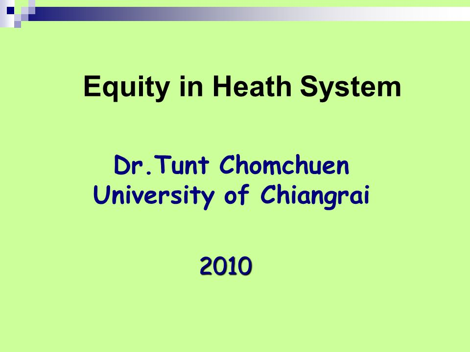 Dr.Tunt Chomchuen University of Chiangrai