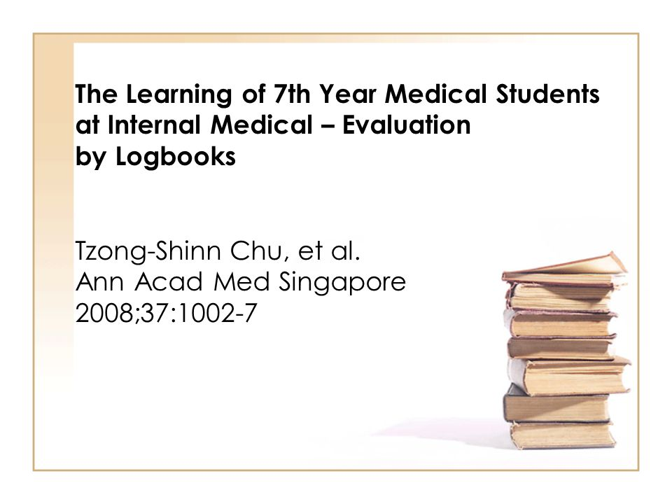 The Learning of 7th Year Medical Students