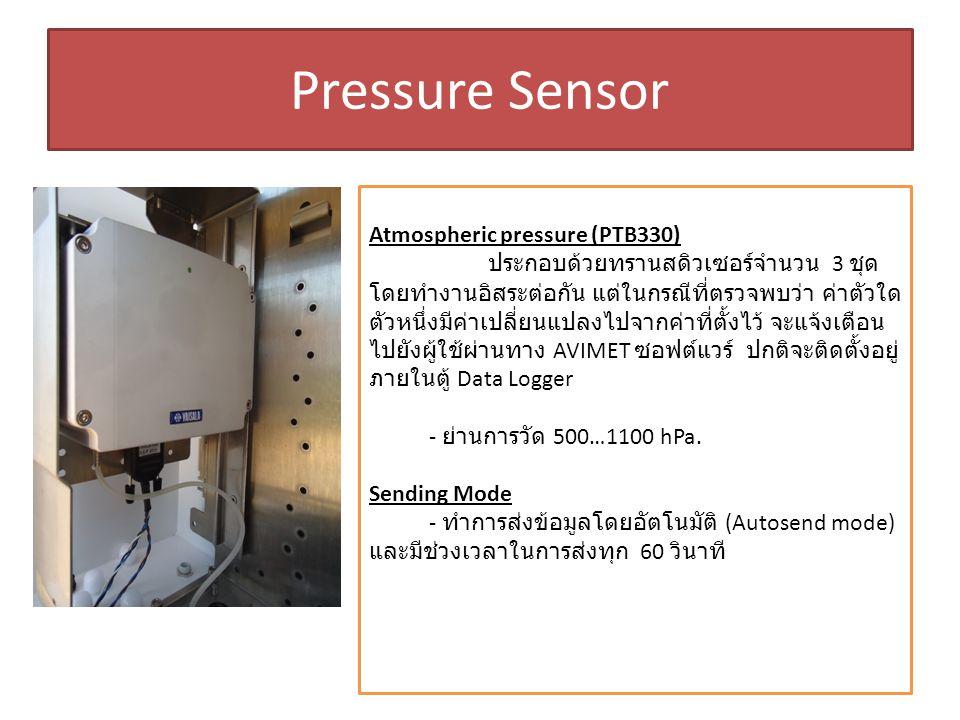 Pressure Sensor Atmospheric pressure (PTB330)