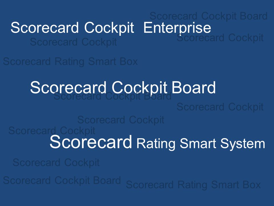 Scorecard Rating Smart System