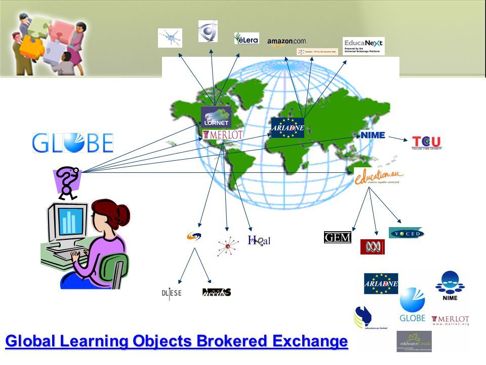 Global Learning Objects Brokered Exchange