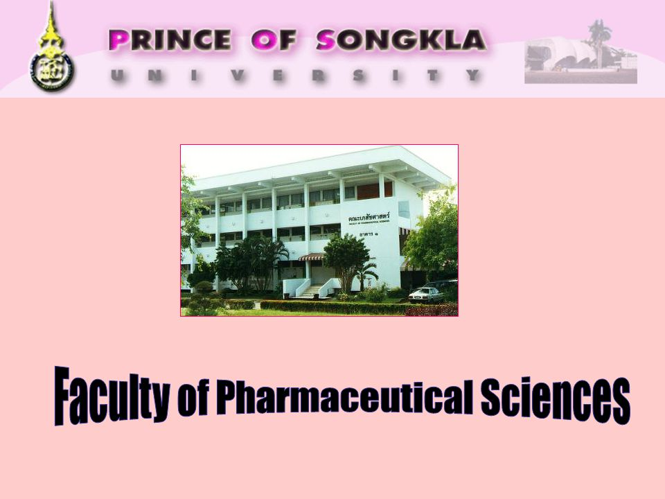 Faculty of Pharmaceutical Sciences